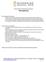 Dermaplaning Instructions