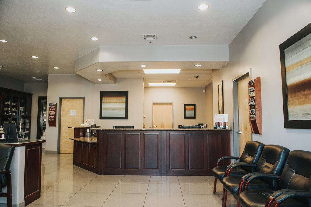 Riverside Medical Arts Main Lobby - Reception Area
