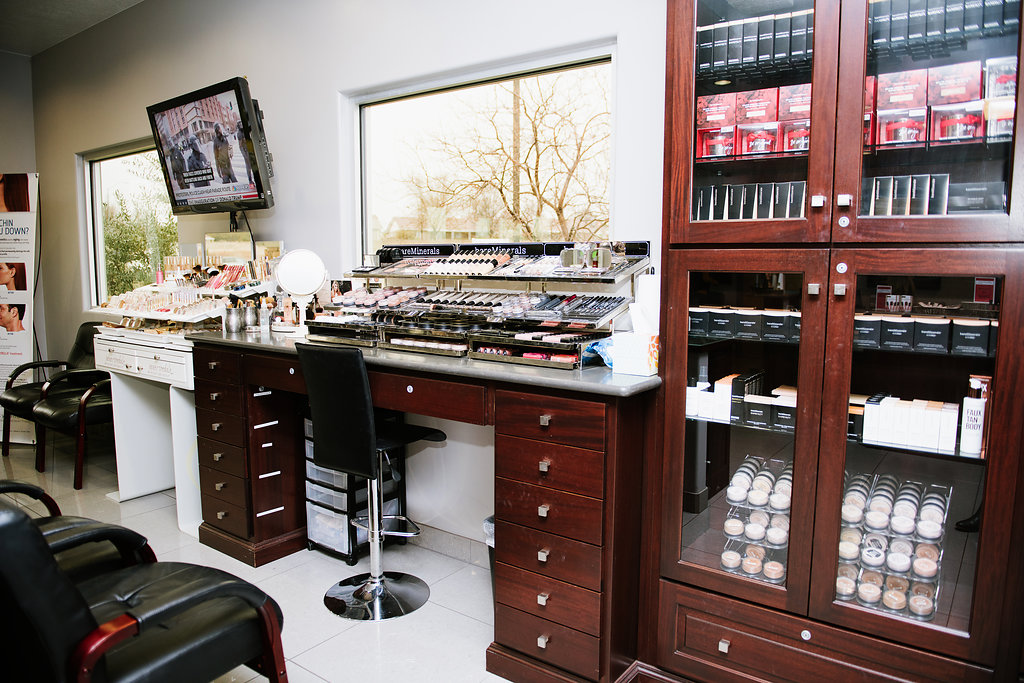 Riverside Medical Arts Main Lobby - Makeup Counter